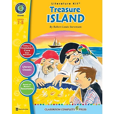 Treasure Island Literature Kit, Grades 7-8, ISBN 978-1-55319-385-2