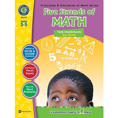 eBook: Five Strands of Math - Tasks Big Book, Grades 3-5 (PDF version, 1-User Download), ISBN 978-1-55319-469-9