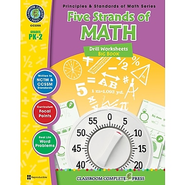 Five Strands of Math - Drills Big Book, Grades PK-2, ISBN 978-1-55319-521-4