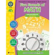Five Strands of Math - Drills Big Book, prématernelle à 2e année, ISBN 978-1-55319-521-4