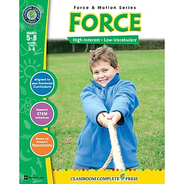 eBook: Force, Grades 5-8 (PDF version, 1-User Download), ISBN 978-1-55319-374-6