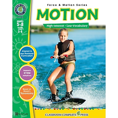 eBook: Motion, Grades 5-8 (PDF version, 1-User Download), ISBN 978-1-55319-375-3