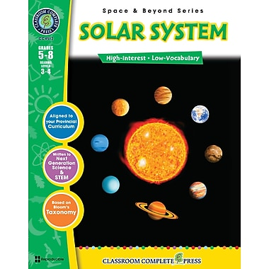 eBook: Solar System, Grades 5-8 (PDF version, 1-User Download), ISBN 978-1-55319-315-9