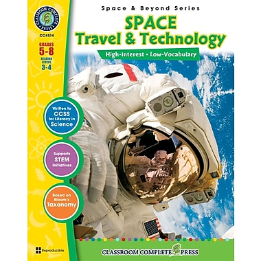 eBook: Space Travel & Technology, Grades 5-8 (PDF version, 1-User Download), ISBN 978-1-55319-317-3