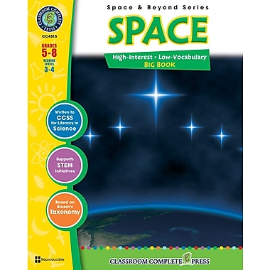 eBook: Space Big Book, Grades 5-8 (PDF version, 1-User Download), ISBN 978-1-55319-318-0