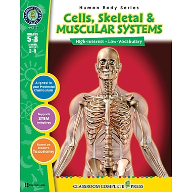 eBook: Cells, Skeletal & Muscular Systems, Grades 5-8 (PDF version, 1-User Download), ISBN 978-1-55319-378-4