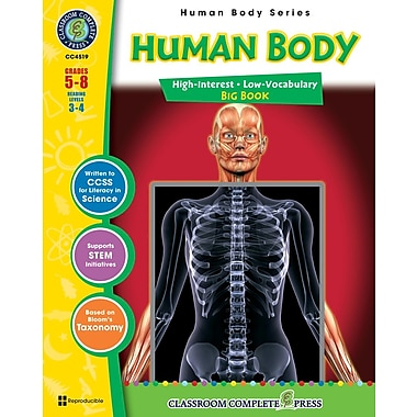 eBook: Human Body Big Book, Grades 5-8 (PDF version, 1-User Download), ISBN 978-1-55319-381-4