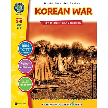 Korean War, Grades 5-8, ISBN 978-1-55319-360-9