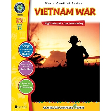 eBook: Vietnam War, Grades 5-8 (PDF version, 1-User Download), ISBN 978-1-55319-361-6
