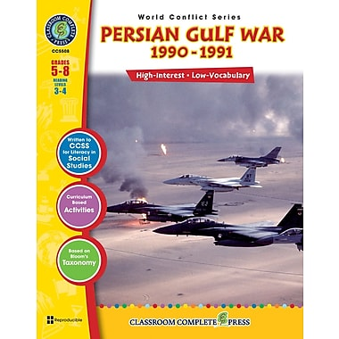 Persian Gulf War, Grades 5-8, ISBN 978-1-55319-363-0