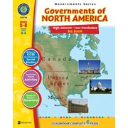 Governments of North America Big Book, 5e à 8e années, ISBN 978-1-55319-346-3