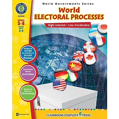 eBook: World Electoral Processes, Grades 5-8 (PDF version, 1-User Download), ISBN 978-1-55319-353-1