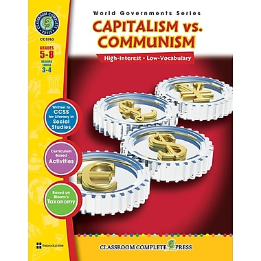 eBook: Capitalism vs. Communism, Grades 5-8 (PDF version, 1-User Download), ISBN 978-1-55319-354-8