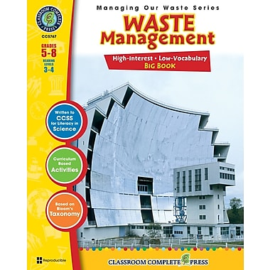 eBook: Waste Management Big Book, Grades 5-8 (PDF version, 1-User Download), ISBN 978-1-55319-307-4