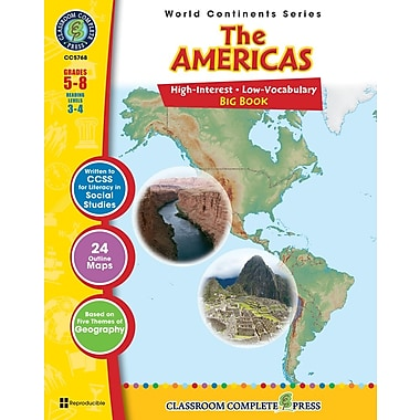 The Americas Big Book, Grades 5-8, ISBN 978-1-55319-437-8