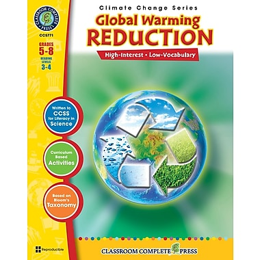 eBook: Global Warming: Reduction, Grades 5-8 (PDF version, 1-User Download), ISBN 978-1-55319-409-5