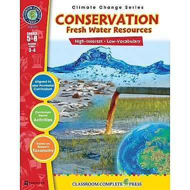 Conservation: Fresh Water Resources, Grades 5-8, ISBN 978-1-55319-436-1