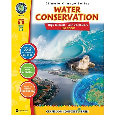 Water Conservation Big Book, Grades 5-8, ISBN 978-1-55319-433-0