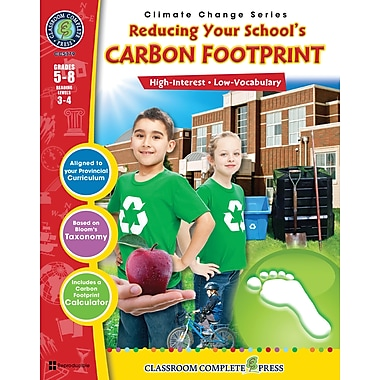 Reducing Your School's Carbon Footprint, anglais, 5e à 8e années, livre num. (téléch. 1 util.), ISBN 978-1-55319-477-4