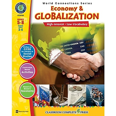 eBook: Economy & Globalization, Grades 5-8 (PDF version, 1-User Download), ISBN 978-1-55319-481-1