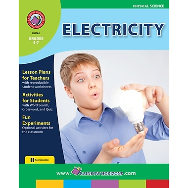 eBook: Electricity, Grades 4-7 (PDF version, 1-User Download), ISBN 978-1-55319-008-0
