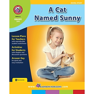 A Cat Named Sunny - Novel Study, Grades 3-4, ISBN 978-1-55319-451-4