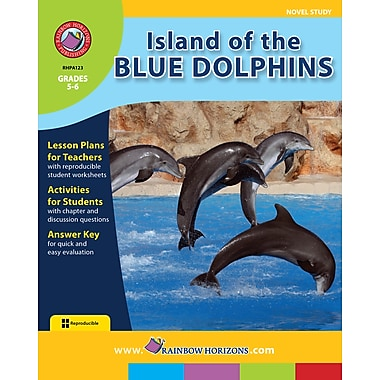 eBook: Island of the Blue Dolphins - Novel Study, Grades 5-6 (PDF version, 1-User Download), ISBN 978-1-55319-081-3