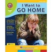 Rainbow Horizons Publishing Textbook I Want to Go Home (Novel Study), Grade 5-6 (RHPA129)