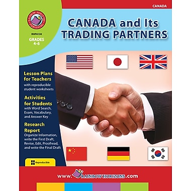 Canada And Its Trading Partners, Grades 4-6, ISBN 978-1-55319-101-8