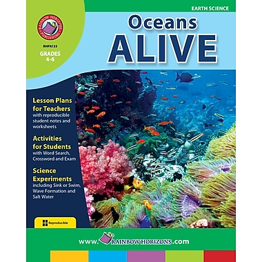 eBook: Oceans Alive, Grades 4-6 (PDF version, 1-User Download), ISBN 978-1-55319-087-5