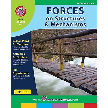 Forces On Structures, Grades 4-7, ISBN 978-1-55319-118-6