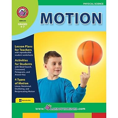 Motion, 4e à 7e années, livre num. (téléch. 1 util.), ISBN 978-1-55319-117-9, anglais
