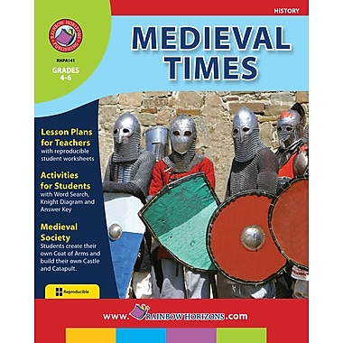 eBook: Medieval Times, Grades 4-6 (PDF version, 1-User Download), ISBN 978-1-55319-109-4