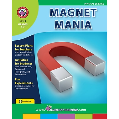 eBook: Magnet Mania, Grades 4-7 (PDF version, 1-User Download), ISBN 978-1-55319-119-3