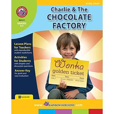eBook: Charlie & The Chocolate Factory - Novel Study, Grades 4-7 (PDF version, 1-User Download), ISBN 978-1-55319-442-2