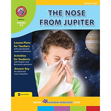 The Nose From Jupiter - Novel Study, anglais, 3e à 6e années, livre num. (téléch. 1 util.), ISBN 978-1-55319-414-9