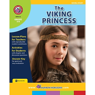 eBook: The Viking Princess - Novel Study, Grades 5-8 (PDF version, 1-User Download), ISBN 978-1-55319-415-6