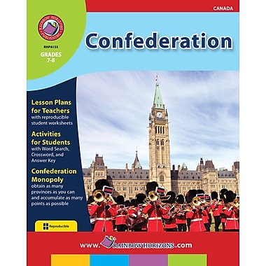 eBook: Confederation, Grades 7-8 (PDF version, 1-User Download), ISBN 978-1-55319-141-4