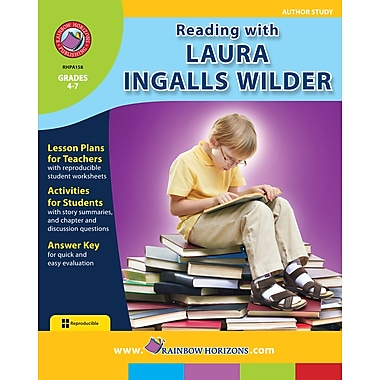 eBook: Reading with Laura Ingalls Wilder - Author Study, 4e à 7e années (téléch. 1 util.), ISBN 978-1-55319-094-3