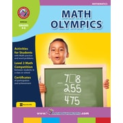Math Olympics, 4e à 6e années, ISBN 978-1-55319-165-0