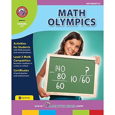 eBook: Math Olympics, Grades 5-7 (PDF version, 1-User Download), ISBN 978-1-55319-163-6