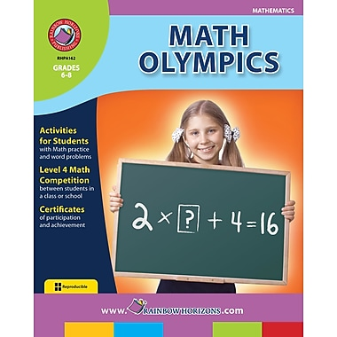 eBook: Math Olympics, Grades 6-8 (PDF version, 1-User Download), ISBN 978-1-55319-164-3