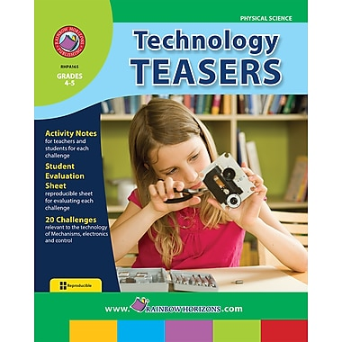 eBook: Technology Teasers, Grades 4-5 (PDF version, 1-User Download), ISBN 978-1-55319-162-9