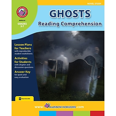 Ghosts: Reading Comprehension - Novel Study, anglais, 3e à 7e années, livre num. (téléch. 1 util.), ISBN 978-1-55319-417-0