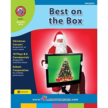 eBook: Best On the Box, Grades PK-8 (PDF version, 1-User Download), ISBN 978-1-55319-106-3