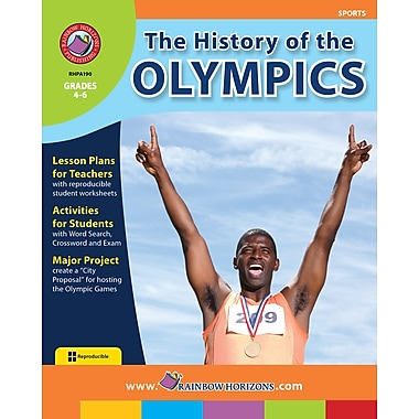 eBook: The History of the Olympics, Grades 4-6 (PDF version, 1-User Download), ISBN 978-1-55319-192-6