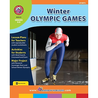 eBook: Winter Olympic Games, Grades 4-6 (PDF version, 1-User Download), ISBN 978-1-55319-193-3