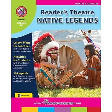 eBook: Reader's Theatre: Native Legends, Grades 4-6 (PDF version, 1-User Download), ISBN 978-1-55319-169-8