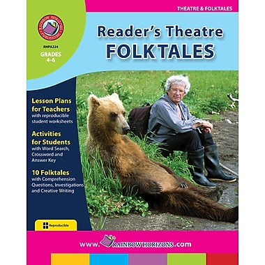 eBook: Reader's Theatre: Folktales, Grades 4-6 (PDF version, 1-User Download), ISBN 978-1-55319-170-4