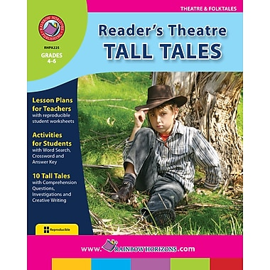 Reader's Theatre: Tall Tales, Grades 4-6, ISBN 978-1-55319-171-1